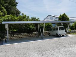 ソーラーカーポートの画像